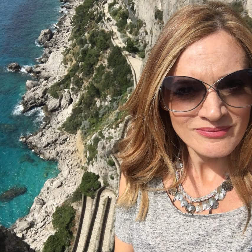 Nikki visiting Capri