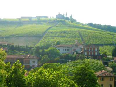 Italian village of Barolo
