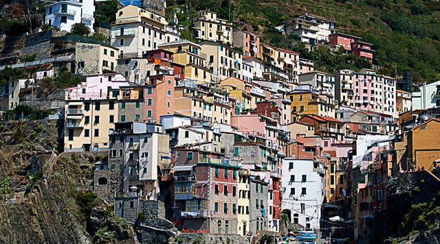 Riomaggiore - photo by Susan Papazian