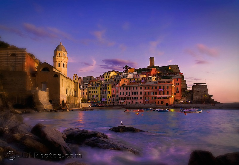 Vernazza sunset