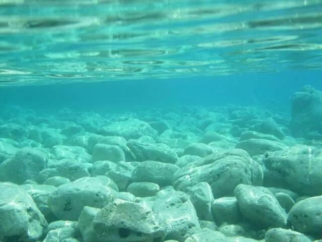 Clearest water in the Mediterranean