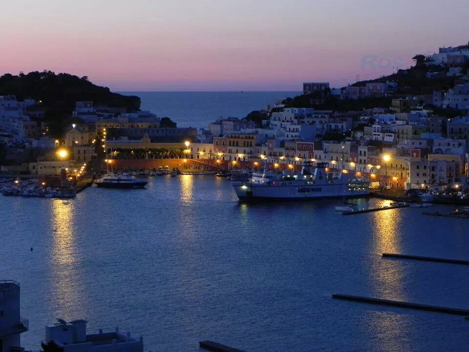 The Harbour at Ponza