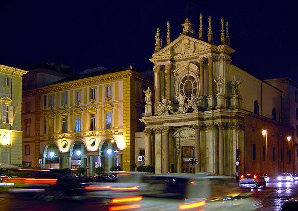 Piazza San Carlo by Karl Baer