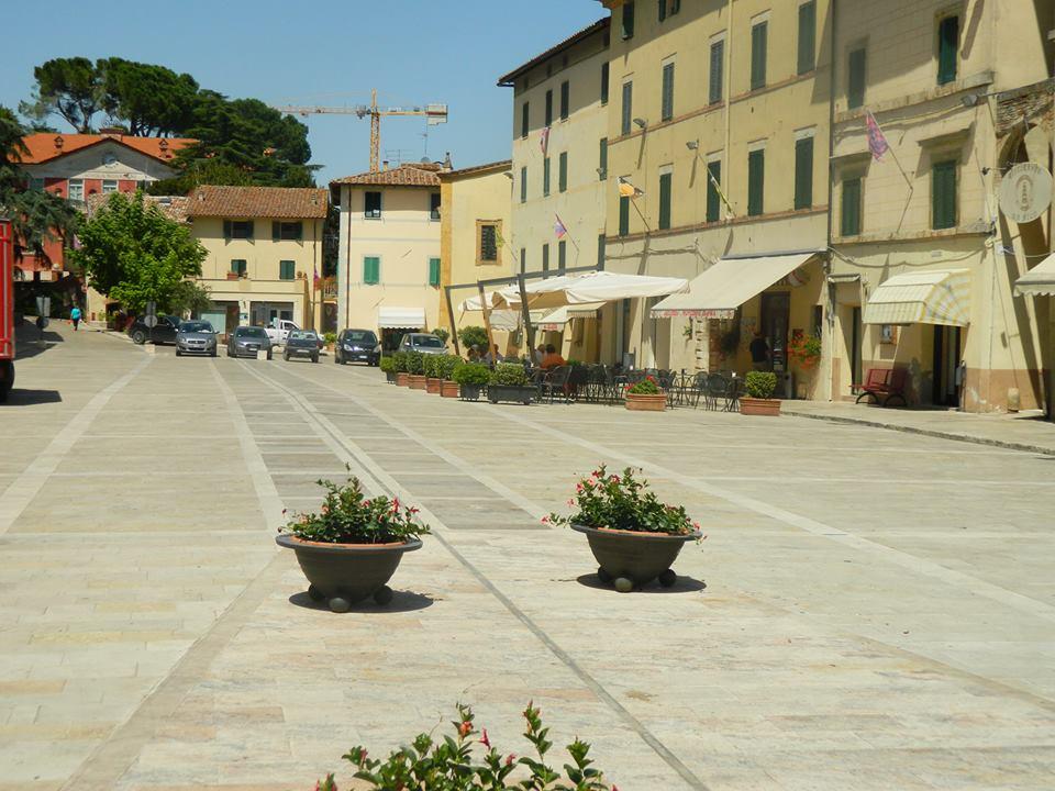Piazza in Cetona Tuscany