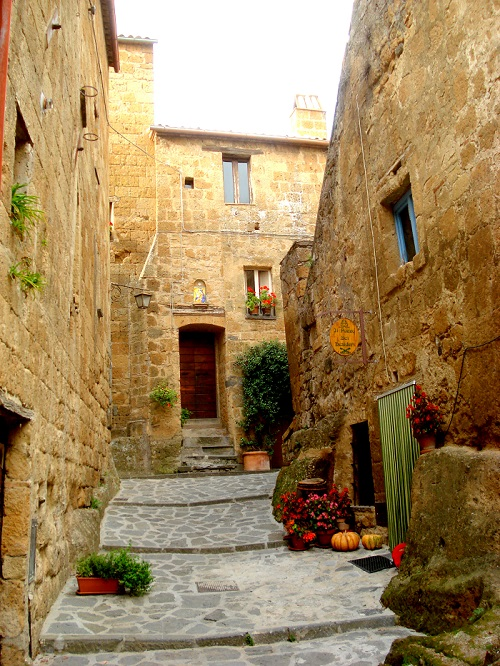 Stairway in Civita