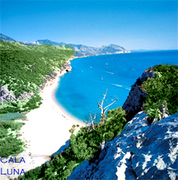 best Sardinian beaches - Cala Luna