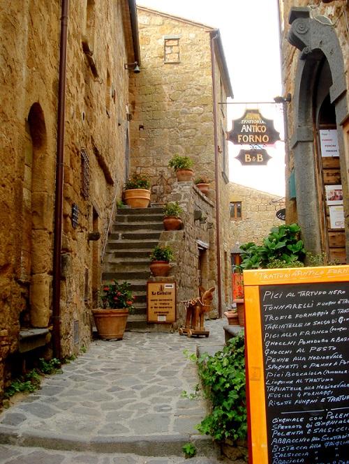 Restaurant in Civita di Bagnoregio