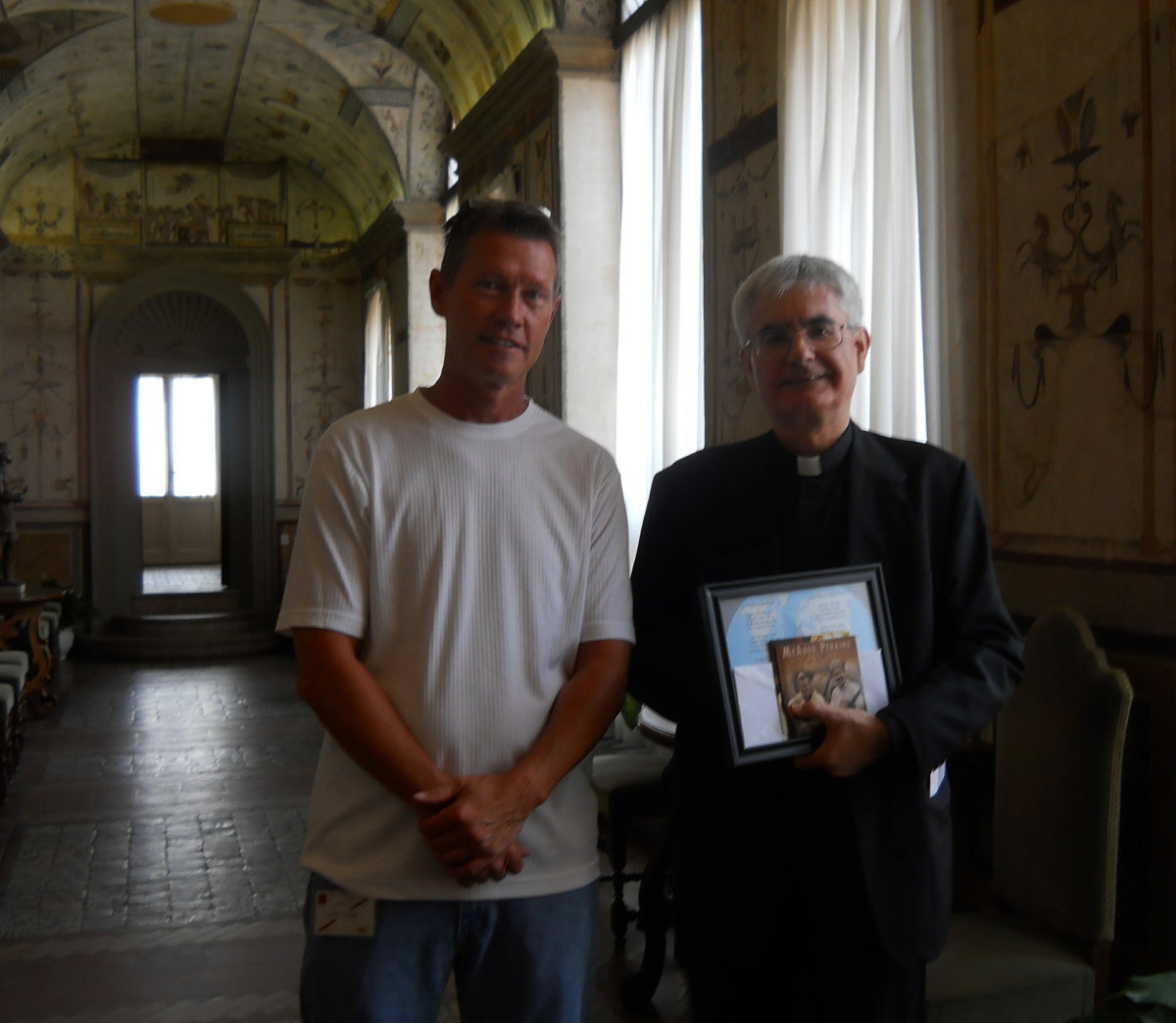 Meeting the Monsignor