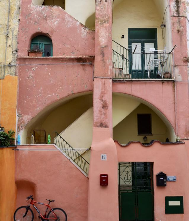 Old buildings on Procida