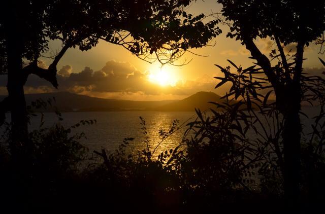 Sunset on Procida Island