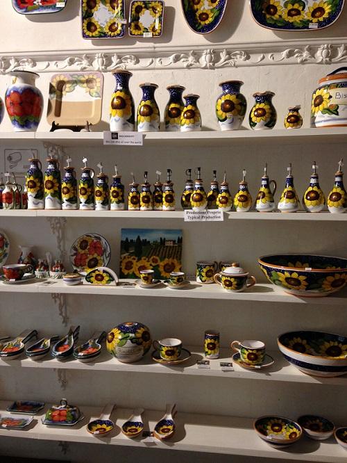 Ceramics, Tuscany