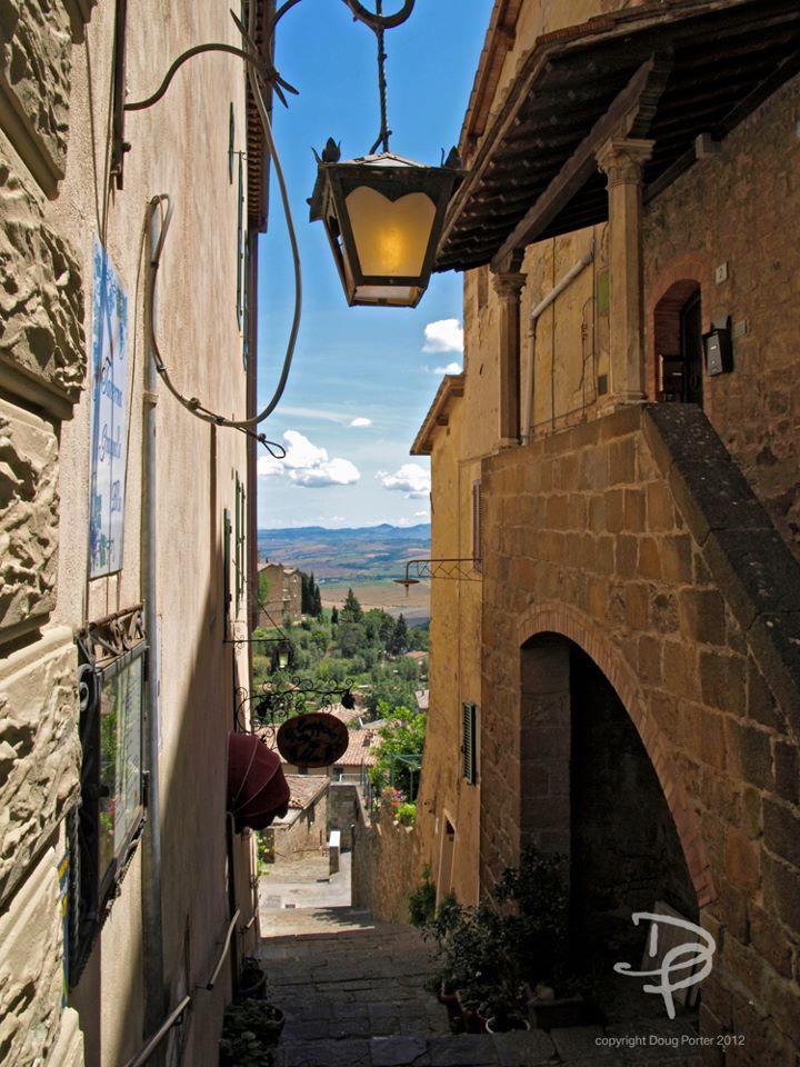 Lanes of Montalcino Tuscany