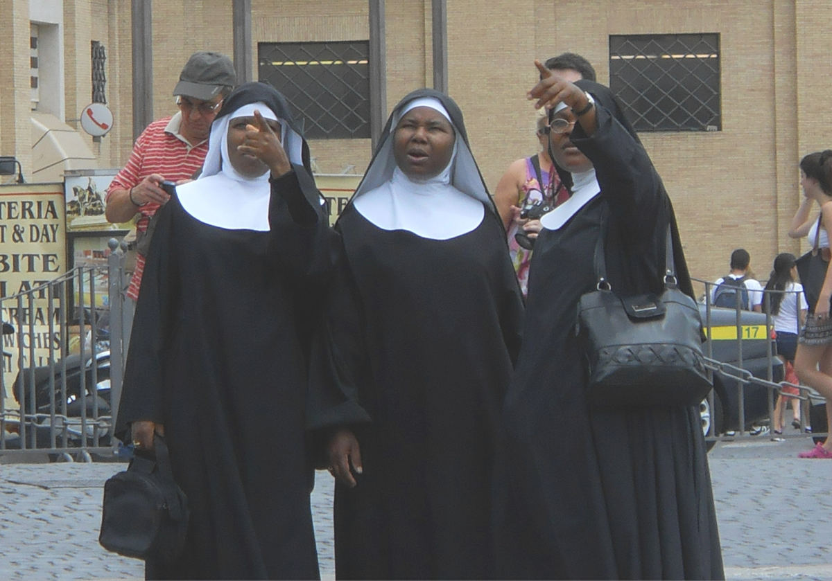 Nuns at the Vatican