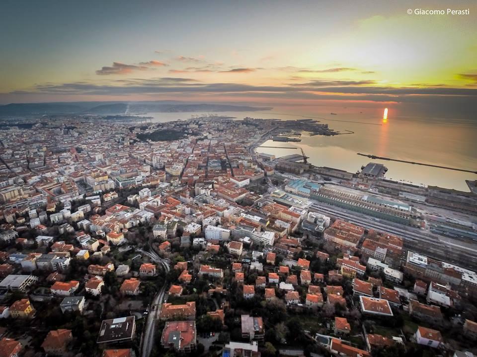 Sunset Trieste