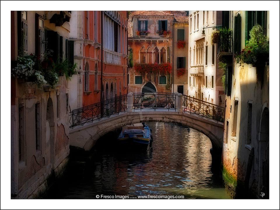 Venice Bridge and Canals