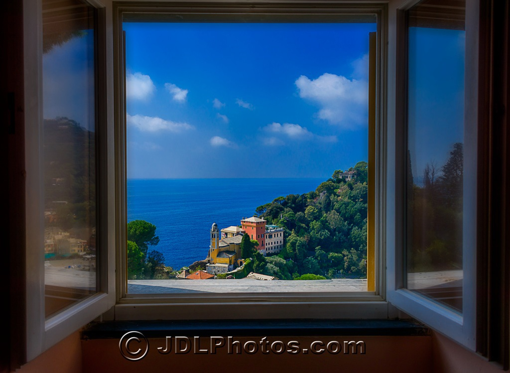 Window on Portofino