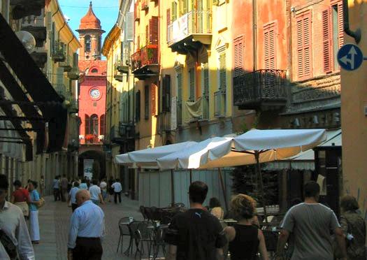 Alba Italy Street Scene