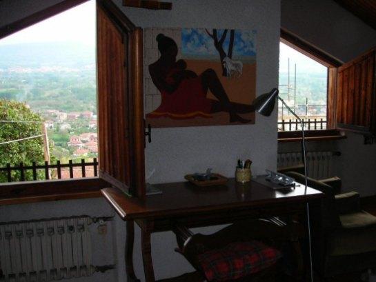 Italian shutters in Piedmont Italy