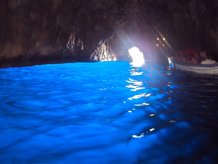 Blue Grotto by Christine Clouse