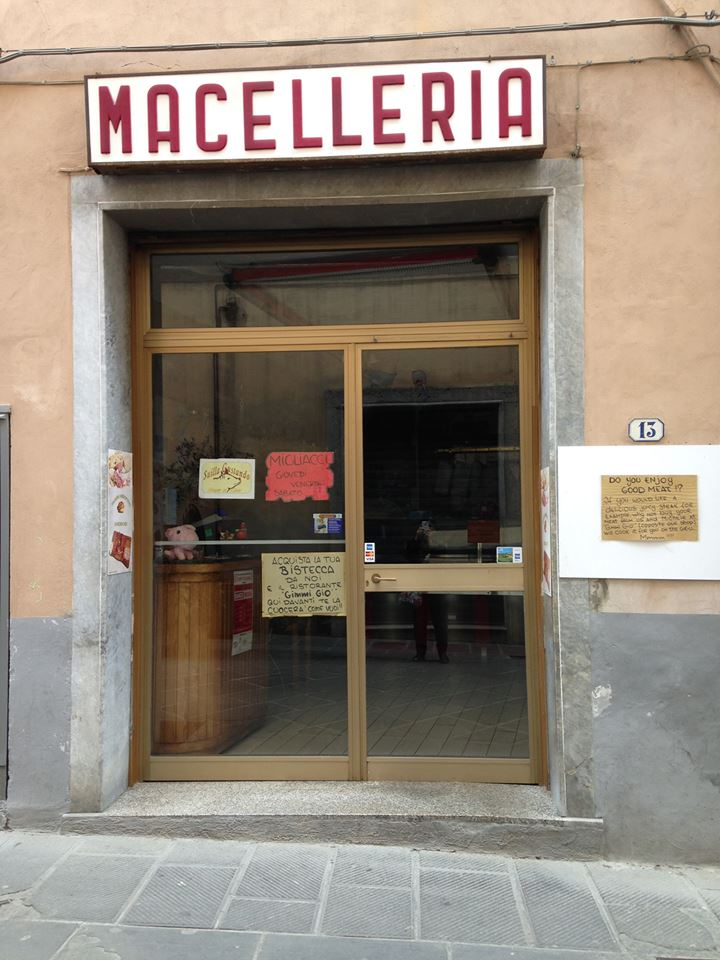 Butcher in Italy