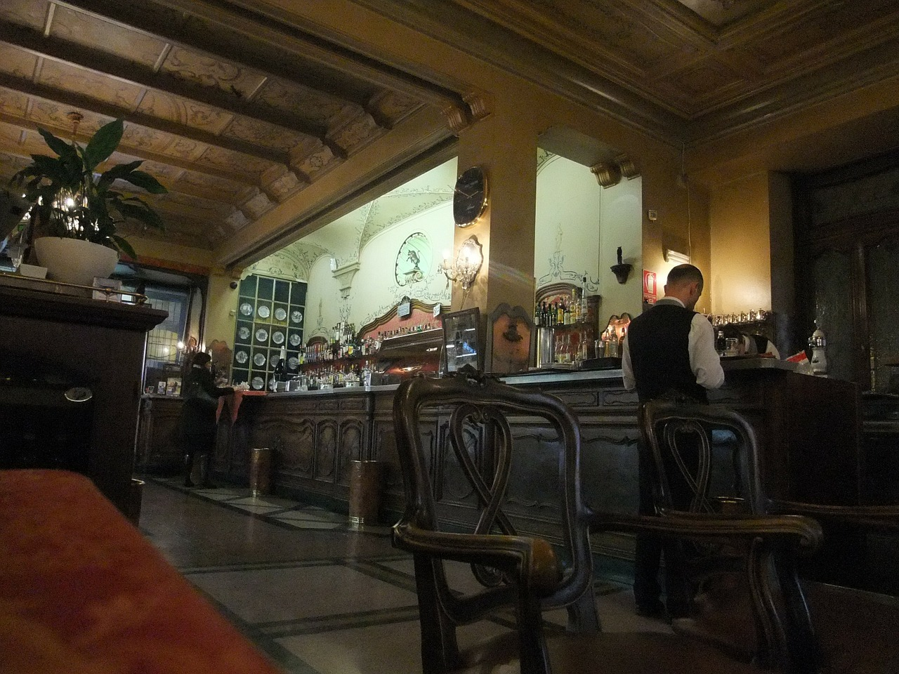 Cafe in Turin