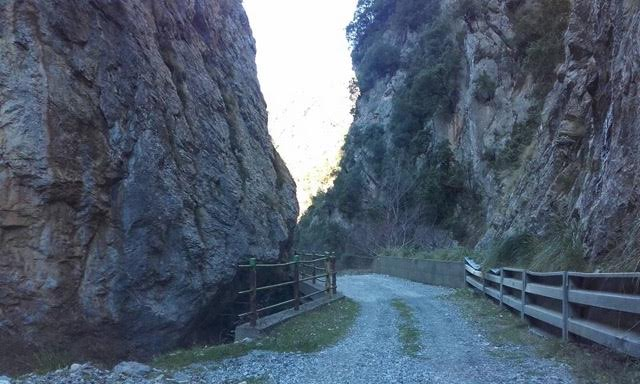 Calabrian Mountain Pass