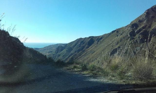 Mountains in Calabria