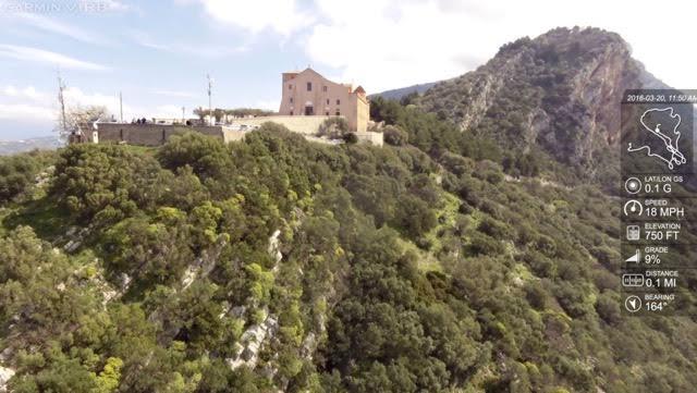 Flying over Capaccio