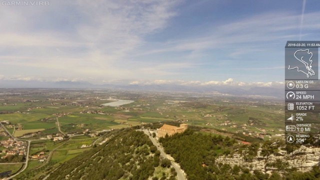 View from above near Capaccio