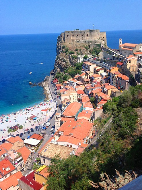 View from Castello Ruffo