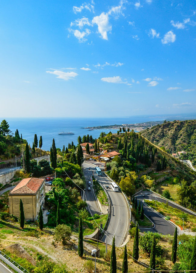 The Road from Taormina