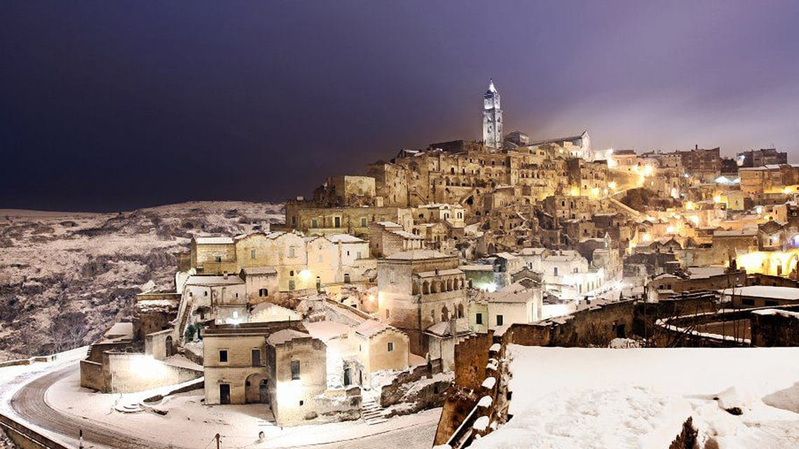 Matera - courtesy of the Caveoso Hotel