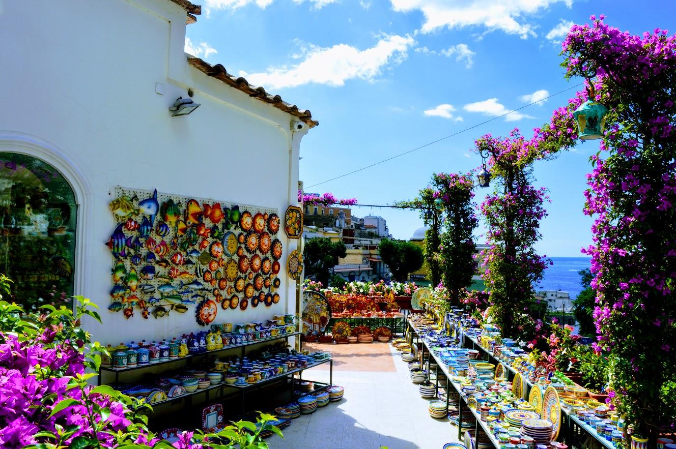 Ceramic shop in Positano