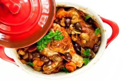 Chicken Cacciatore Dish