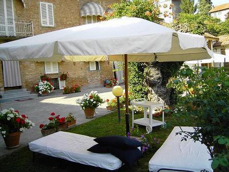 A typical Italian garden