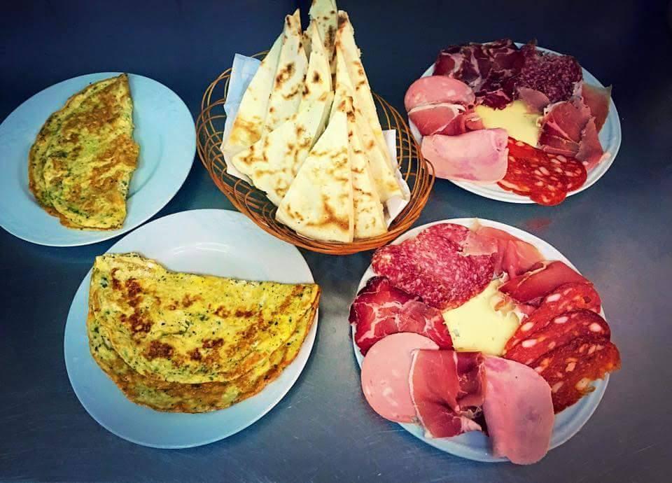 Dinning in Gubbio