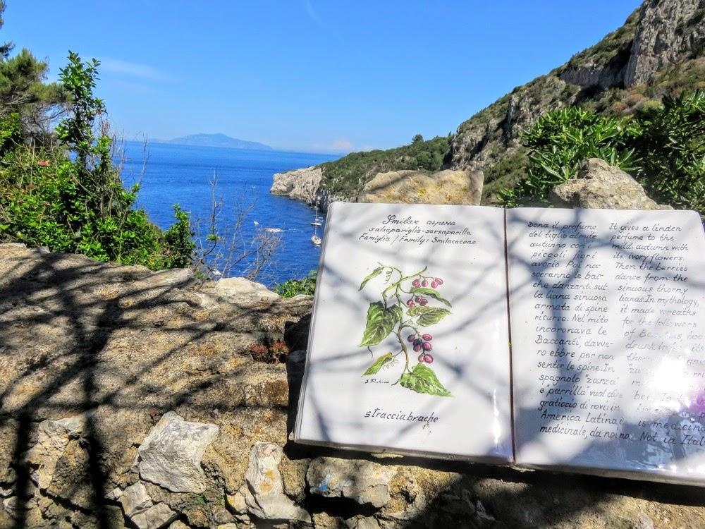 Ceramic sign - Isle of Capri