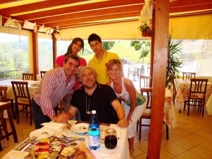 Family in Gubbio