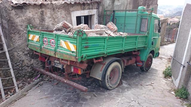 Truck in Calabria