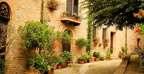 Italian Countryside Hotel