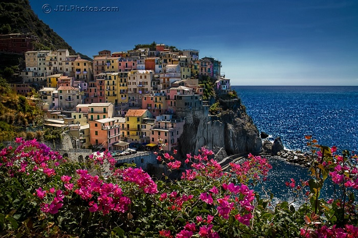 Manarola by Jim DeLutes
