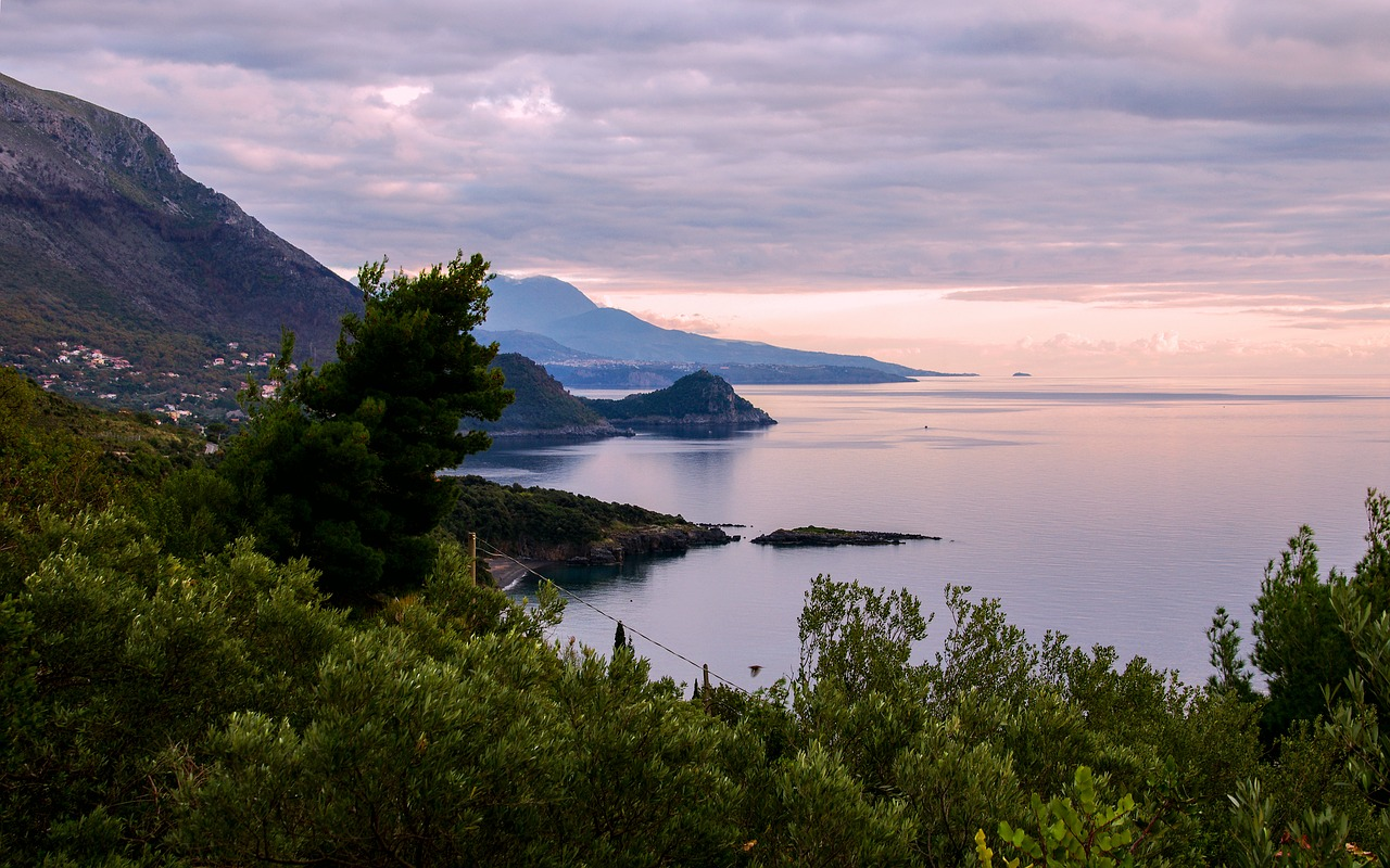 Basilicata Coastline near Maratea