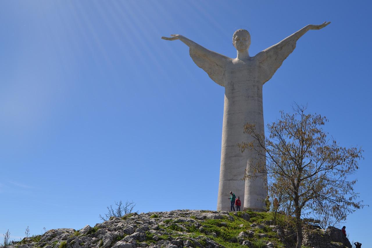 Christ the Redeemer Statue in Maratea