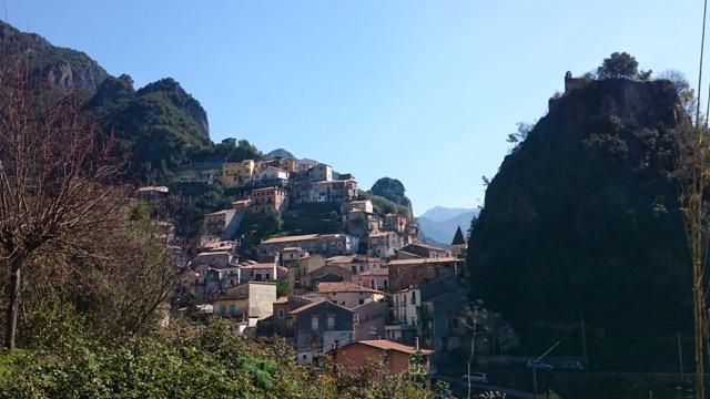 Spectacular scenes in Calabria