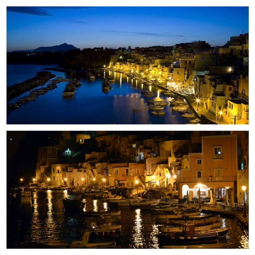 Nightfall Procida