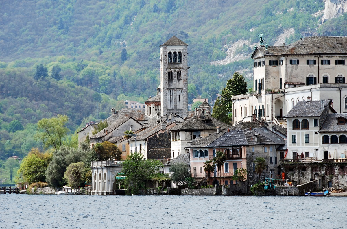 View of Lake Orta