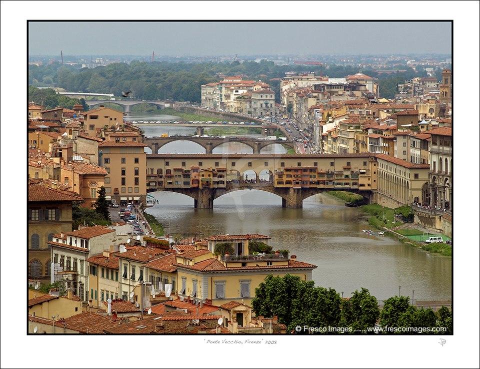 Pnte Vecchio Florence Italy