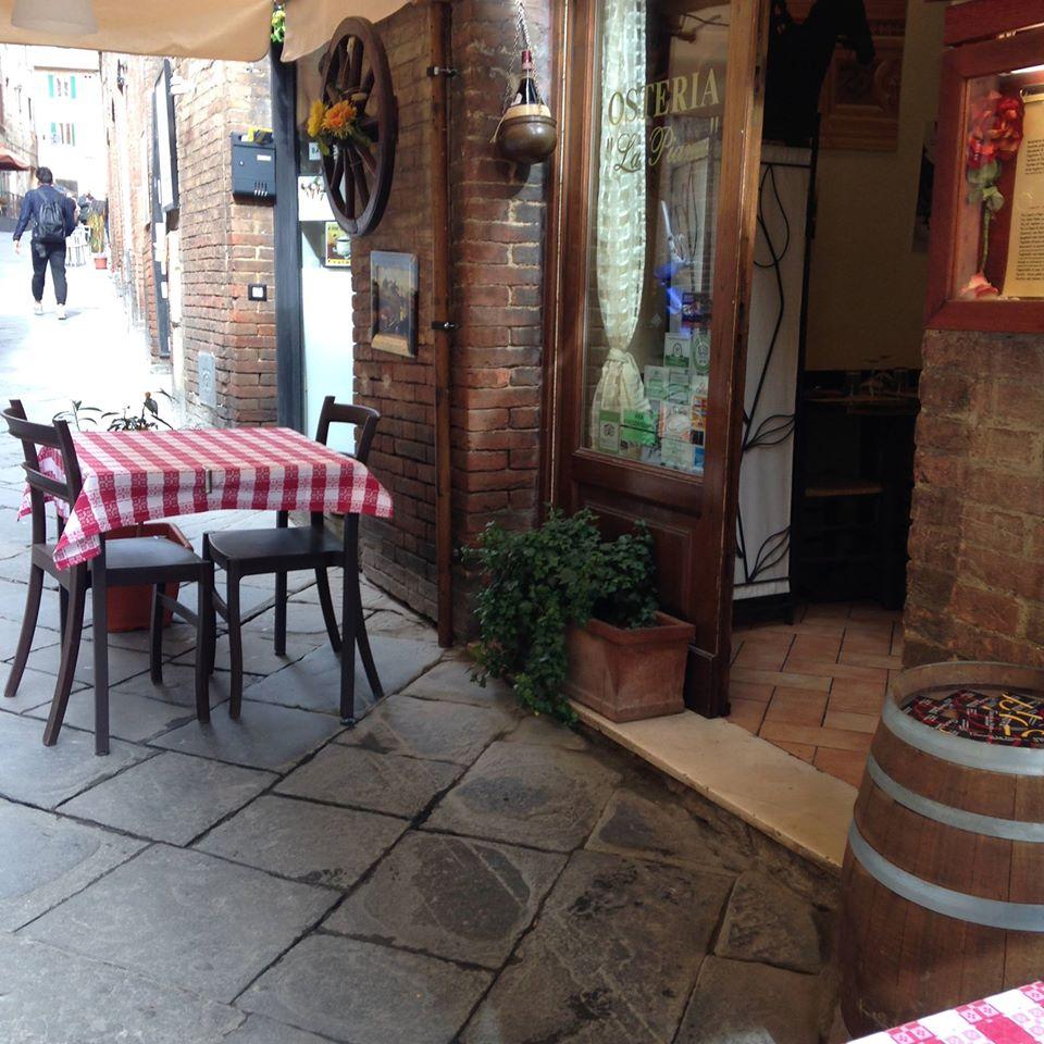 Osteria in Siena