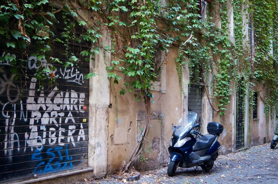 Graffiti in Rome