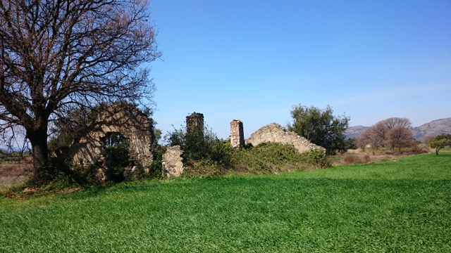 Ruins dot the countryside - Calabria, Italy